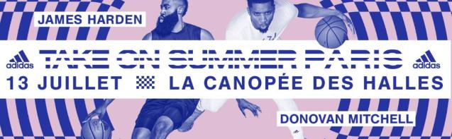 Retour sur l'évènement « Take On Summer » d'Adidas, avec James Harden et Donovan Mitchell