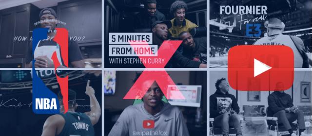 Quand les joueurs de la NBA deviennent YouTubers