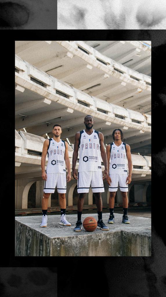 Adidas présente les nouveaux maillots du Paris Basketball