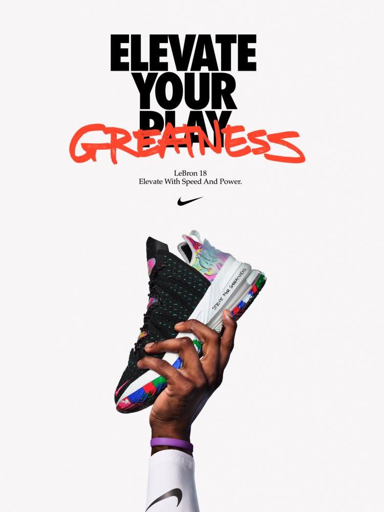 Sortie Sneakers : En route pour un 18e modèle pour les Lebron